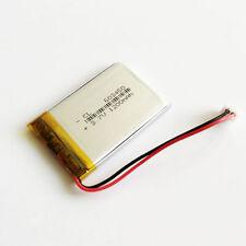 1200mAh 3.7V LiPo Battery For MP3 MP4 PSP GPS Speaker 603450 JST 2.5mm Connector