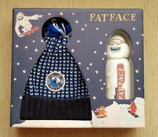 Fat Face Kids Beanie Hat & Bubble Bath Gift Set *NEW* *BNIB* - Ski/Snow/Yeti