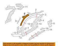 AUDI OEM 00-06 TT Quattro Hinge-Pillar Reinforcement Left 8N8810179