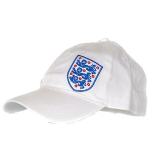 Umbro England 3 Lions Baseball Training Cap - White Mens Size