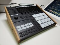 SOLID OAK END CHEEKS / STAND FOR NATIVE INSTRUMENTS MASCHINE MK3 SYNTHS AND WOOD