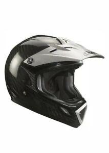 Lazer MX7 Carbon Light Black Motocross Helmet Size Medium. New In Box.
