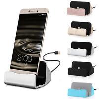 Escritorio Base de Carga Estación Cargador & Cable Micro USB para Smart Teléfono