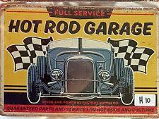 Hot Rod Garage Metal Tin Signs Bar Shed & Man Cave Signs AU Seller