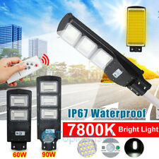 69000LM Solar LED Street Light Commercial Outdoor IP67 Area Security Road Lamp