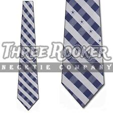 Dallas Cowboys Woven Polyester Checkered Pattern Neck Tie by Eagles Wings e3b226bb2