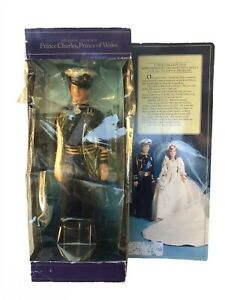 """Goldberger 1982 Prince Charles of Wales 11.5"""" Doll Wedding Outfit"""