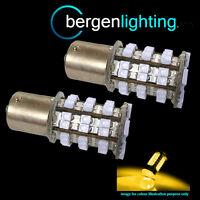 382 1156 BA15s 245 P21W AMBER 48 SMD LED REAR INDICATOR LIGHT BULBS HID RI202201