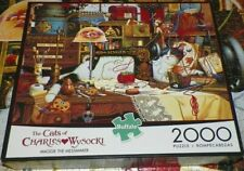 MAGGIE The MESSMAKER Cats of Charles WYSOCKI 2000 pc Jigsaw Puzzle Complete