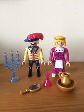 Playmobil romain//Egyptian figure Esclave ou serviteur avec Feathered FAN New