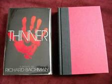 Stephen King (Richard Bachman) THINNER - EARLY PRINTING (file photo)