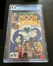 Moon Knight #1 CGC 9.4 - White Pages