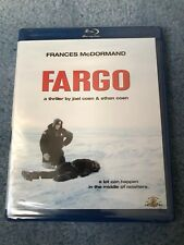 Fargo (Blu-ray Disc, 2009) Brand New Factory Sealed Free Shipping