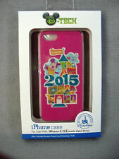 Disney Parks 2015 Mickey Mouse Disneyland Pink Cell Phone Case iPhone 5/5S NEW