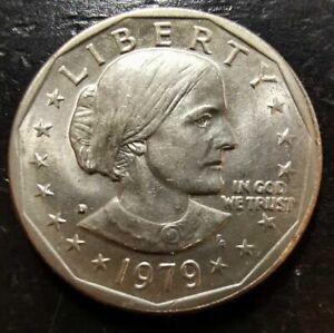 1979-D $1 Susan B. Anthony Dollar UNC