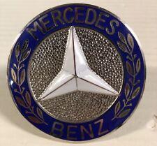Mercedes Emblem NOS 1925 Early Hood Emblem