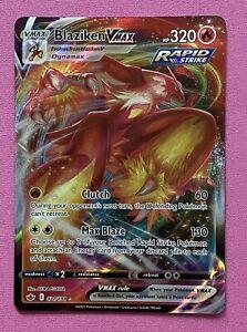 Blaziken VMAX - 021/198 - Rare Holo Card - Pokemon Chilling Reign