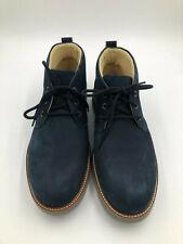 """Samuel Hubbard Men's 10W """"Re-Boot"""" Boots Navy Nubuck 1453-02"""