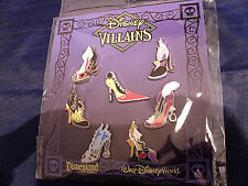 Disney * VILLAINS HIGH HEELS - SHOES * New in Package 7...