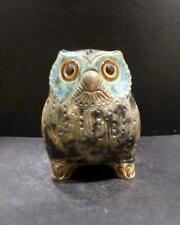 Spain Lladro Green, Brown and Tan Little Eagle Owl, Shape 2020 - Mint