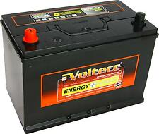 Autobatterie Batterie Asia Japan 60033 12V 100Ah 95Ah 90Ah Pluspol links