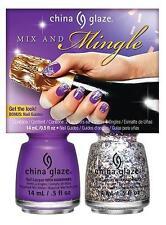 China Glaze Mix & Mingle Duo Christmas Gift Set 2 Piece 14ml