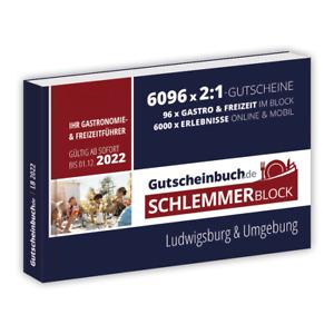 Gutscheinbuch.de Schlemmerblock Ludwigsburg & Umgebung 2022