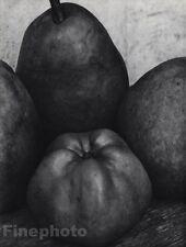 1921/63 Vintage 16x20 ~ PEAR APPLE Fruit Still Life Photo Art By EDWARD STEICHEN