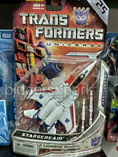 TRANSFORMERS STARSCREAM G1 D LEVEL UNIVERSE GENERATION 1 SERIES 25 YEARS