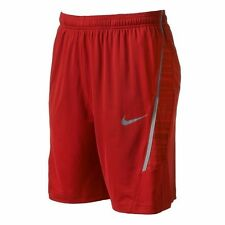 Nwt $38 Nike Mens Dri Fit Dynamo Blur Mesh Training Shorts Red S M L