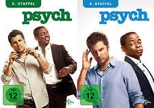 Psych - Die komplette 5. + 6. Staffel (James Roday)                  | DVD | 242
