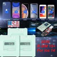 2020 R-SIM15+ Nano Unlock RSIM Card for iPhone 12 Pro XS MAX XR X 8 7 iOS14.2