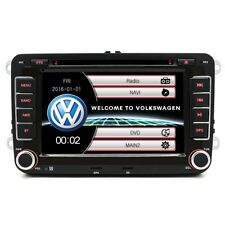 for VW Polo Passat CC Jetta Tiguan 2DIN Car Player Touch Radio GPS Stereo DVD