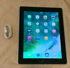 Apple iPad 4th Gen. 16GB, Wi-Fi, 9.7in - Black Bundle Good Condition A1458