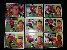 ESTE 2002 2003 LOTE 9 CROMOS DISTINTOS RCD MALLORCA