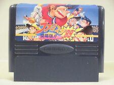NES -- FAMILY STADIUM 89 -- Famicom. BASEBALL. Japan game. Work fully. 10480