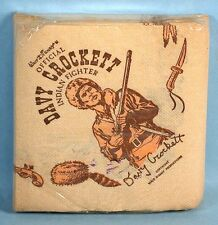 Fess Parker as Davy Crockett 30 Napkins Set Unopened in Package with Label 1954