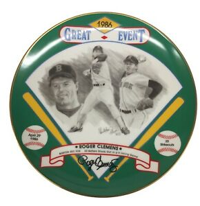 Great Event 1986 Roger Clemens Signed - 20 Batters Struck Out In A 9 Inning Game