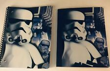 Back To School Supplies Star Wars Storm Trooper Composition Notebook + Notebook