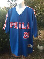 VTG Men's Philadelphia 76ers PHILA Ackers Limited Edition Jersey Sz XXL Diamond