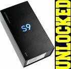 New In Box Samsung Galaxy S9 Sm-g960u 64gb Black Gsm Unlocked For Att T-mobile