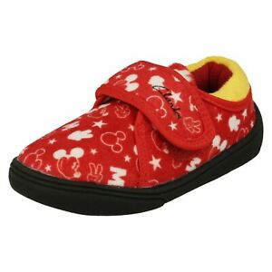 Clarks Childrens Disney Detailed Slippers - Holmly Mouse T
