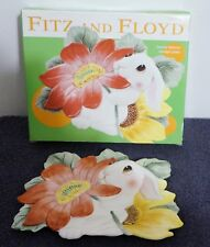 Fitz And Floyd Essentials Bunny Canape Plate