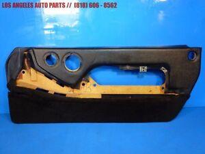 86-95 PORSCHE 928 RIGHT PASSENGER SIDE DOOR PANEL BLACK  OEM