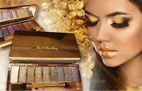 9 Diamond Urban Colours Makeup Glitter Eyeshadow Palette-Great nude Look Makeup