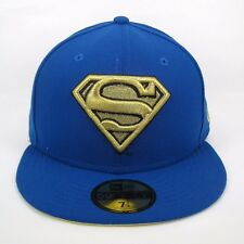 New Uomo Era DC Comics Superman Team Gold 5950 montato CAP-TAGLIA 7 1/4