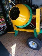 cement concrete mixer 9cu 1 1/2 bag BOLT TOGETER *no engine *non towable