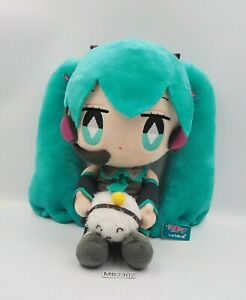 "Hatsune Miku x Shumai Kun MB2302 Vocaloid Taito Prize Plush 11"" Toy Doll Japan"