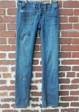 DIESEL Womens 26 Keate Skinny Straight Leg Stretch Jeans 0060B Wash