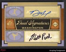 2012 SP Dual Signatures Destin Hood Matthew Purke Autograph AUTO Rookie RC